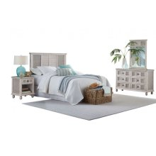 Bay Breeze 4 PC Queen Bedroom Set