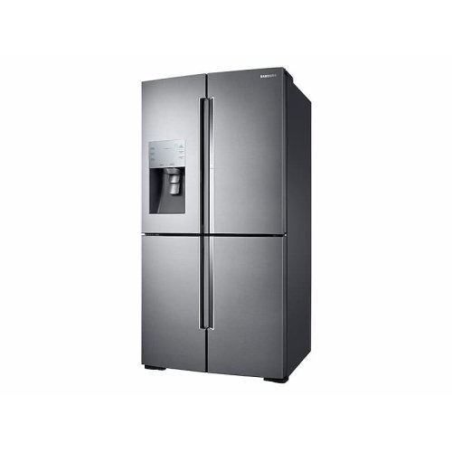 28 cu. ft. Food Showcase 4-Door Flex Refrigerator with FlexZone in Stainless Steel