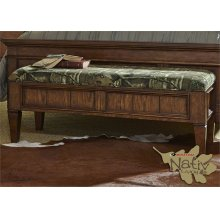 2 AVAILABLE! Mossy Oak Bed Bench