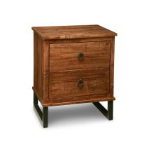 Cumberland 2 Drawer Nightstand with Power Management