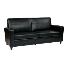 Sofa With Espresso Finish Legs
