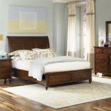 Queen Storage Bed, Dresser & Mirror, Chest, N/S