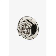 Regulator Thermostatic Control Valve Trim with Metal Wheel Handle STYLE: RGTH02