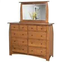 "Hayworth 10 Drawer 66"" Dresser"