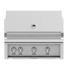 "36""grill, Built-in, (3) Trellis, Rotis-ng"