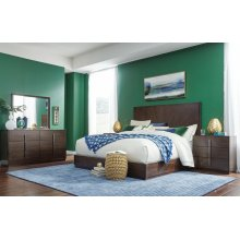 Paldao King Panel Bed
