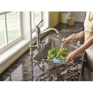"1800 Series 29""x18"" stainless steel 18 gauge double bowl sink"
