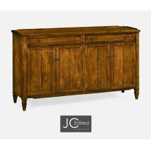 "38"" Four-Door Sideboard in Country Walnut"
