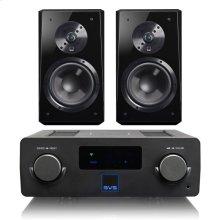Prime Wireless SoundBase - SoundBase with Ultra Bookshelf / Piano Gloss Black