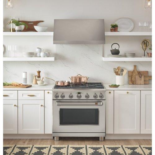"Café 36"" All-Gas Professional Range with 6 Burners (Natural Gas)"