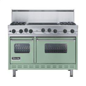 """Sage 48"""" Sealed Burner Self-Cleaning Range - VGSC (48"""" wide, four burners & 24"""" wide char-grill)"""