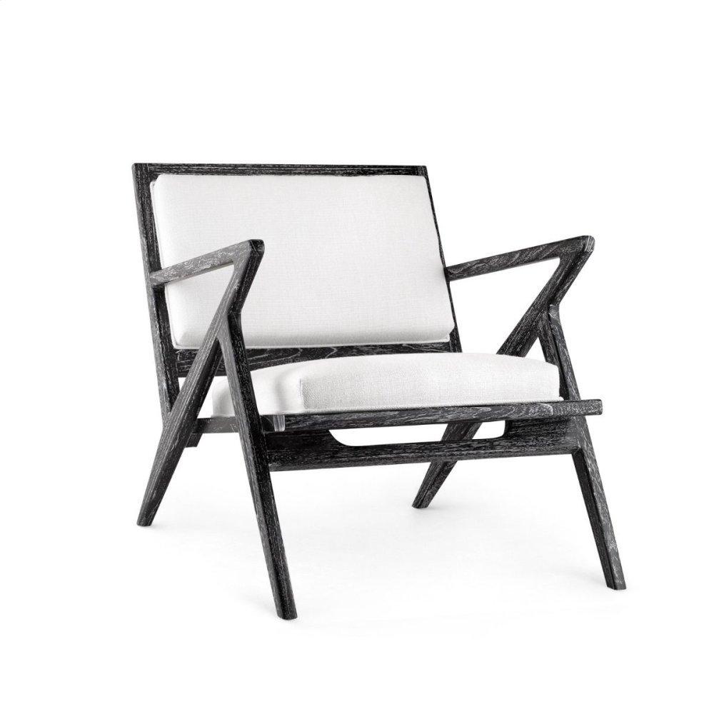 Ethan Lounge Chair, Black