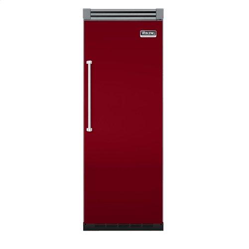 "Apple Red 30"" Quiet Cool™ All Freezer - VIFB Tru-Flush™ (Right Hinge Door)"