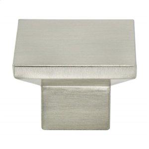 Elevate Brushed Nickel Knob Product Image