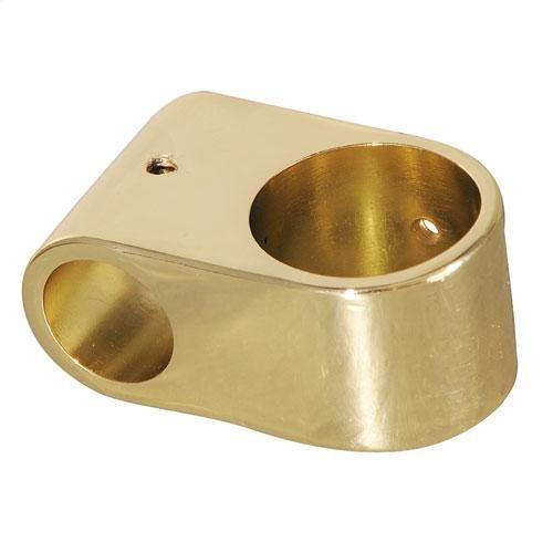 Double Eye Loop - Polished Brass