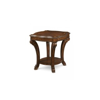 Old World Rectangular End Table