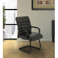 DC#200G-EM - DESK CHAIR Fabric Guest Chair Product Image