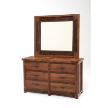 Heritage Richland 6 Drawer Dresser