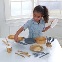 Modern Metallics 27-Piece Cookware Set