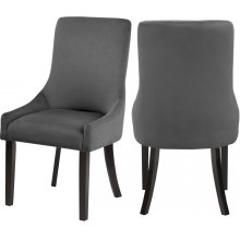 """Demi Velvet Dining Chair - 22"""" W x 23.5"""" D x 40.5"""" H"""