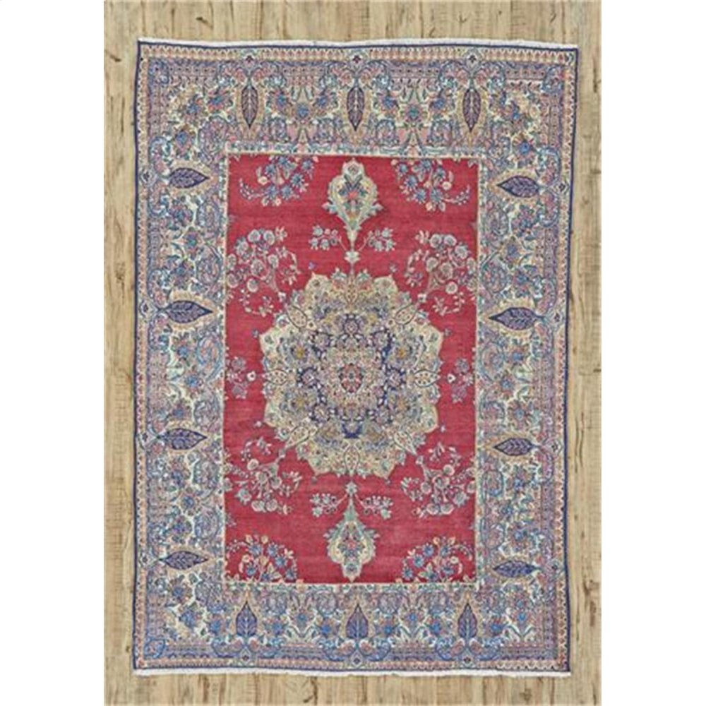 "KERMAN 000042470 IN RED IVORY 6'-5"" x 9'-1"""