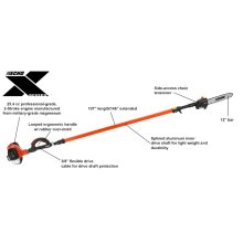 PPT-2620 Gas Loop Handle Power Pruner and Pole Saw ECHO X Series