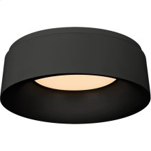 Visual Comfort BBL4094BLK Barbara Barry Halo 1 Light 11 inch Matte Black Flush Mount Ceiling Light