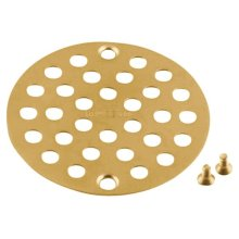 Moen brushed gold tub/shower drain covers
