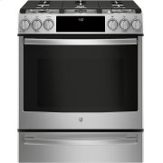 "GE Profile™ 30"" Smart Slide-In Front-Control Gas Range Product Image"