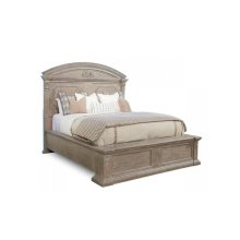 Arch Salvage Queen Chambers Panel Bed