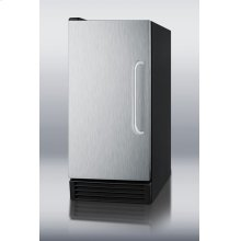 ADA compliant NSF-listed auto defrost icemaker for built-in or freestanding use under counters