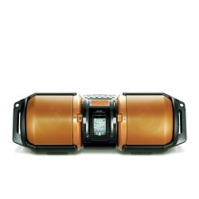 High-Power Portable Audio System with Dual Subwoofers