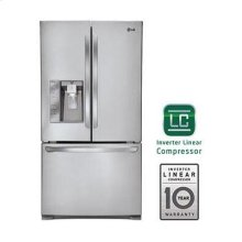 Super-Capacity 3 Door French Door Refrigerator with Smart Cooling Plus technology