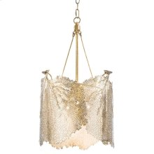Large Sea Fan Chandelier (brass)