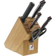 Miyabi Red Morimoto Edition 6-pc Knife Block Set