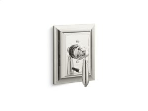 Pressure Balance with Diverter, Classic Handle - Nickel Silver Product Image