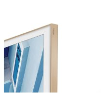 "65"" The Frame Customizable Bezel - Beige/Light Wood"
