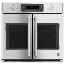 "GE Cafe™ Series 30"" Built-In French-Door Single Convection Wall Oven***FLOOR MODEL CLOSEOUT PRICING***"