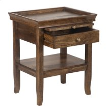 Bedside Table W/Tray