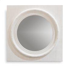 Circle Squared Mirror, Off White