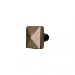 Square Knob - CK225 Silicon Bronze Brushed Product Image