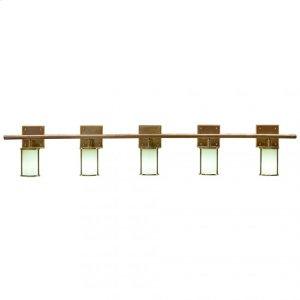 Lantern Vanity - Round Globe - V450-68 Silicon Bronze Brushed Product Image