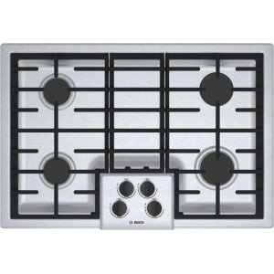 """500 Series, 30"""" Gas Cooktop, 4 Burners, Stainless Steel Product Image"""