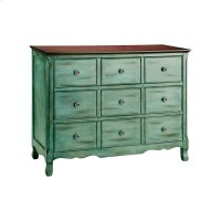 Green Blue Hartford Chest Product Image
