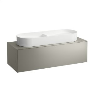 Gold & Nero Marquina Drawer element, 1 drawer, matching washbasin bowls 812348, 812349, centre cut-out Product Image
