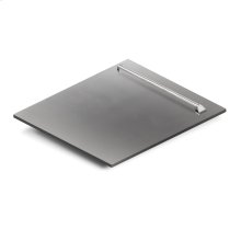"""24"""" Dishwasher Panel in Stainless Steel with Traditional Handle (DP-304-H-24)"""