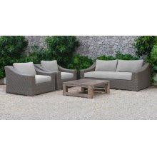 Renava Palisades Outdoor Beige Wicker Sofa Set