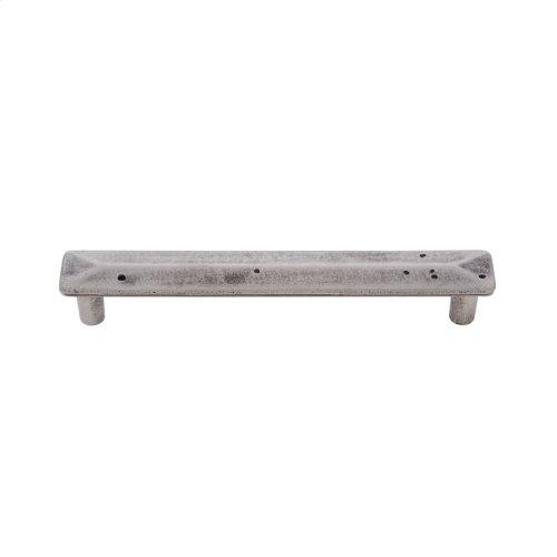 Rustic Nickel 128 mm c/c Rustic Square Pull