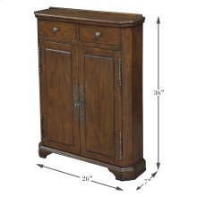 Austrian Hall Cabinet, Walnut