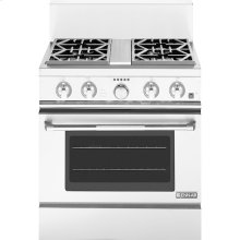 """30"""" Pro-Style® Dual-Fuel Range with Convection, Pro-Style® Stainless Handle"""